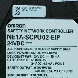 [중고] NE1A-SCPU02-EIP OMRON(옴론) 세이프티 컨트롤러