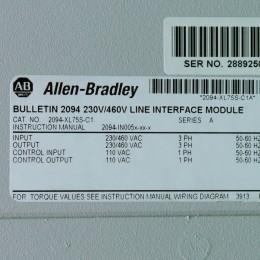 [미사용] 2094-XL75S-C1 AB(Allen-Bradley)