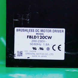 [중고] FBLD120CW Oriental Motor 서보드라이브