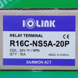[신품] R16C-NS5A-20P 삼원ACT 소형 릴레이 터미널