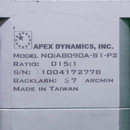 [중고] AB090A-S1-P2 APEX 15:1 감속기 적용모터 500W 1KW
